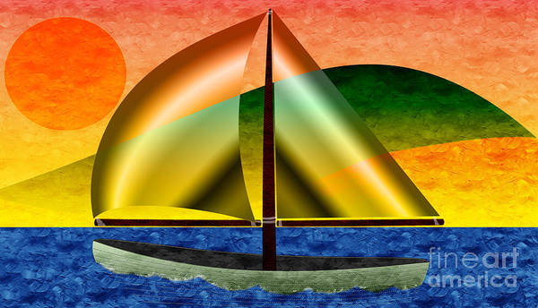 Photograph - Sailing Around Hawaii by Andee Design