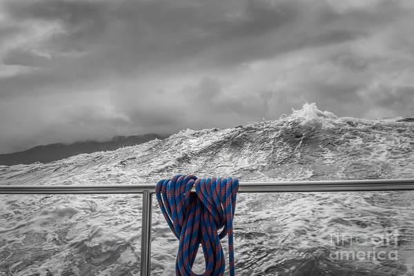 Photograph - Sailing Around South West Cape Of Tasmania by Jola Martysz