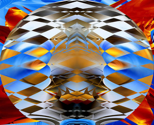 Digital Art - Sailing Around The Globe by Roy Erickson