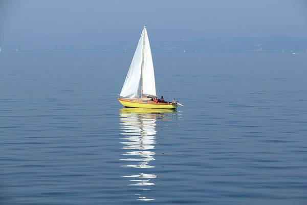 Recreational Boat Photograph - Sailing Boat by Basieb