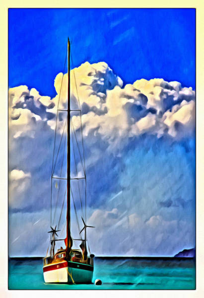 Photograph - Sailing Clouds by Alice Gipson