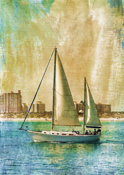 Photograph - Sailing Dreams On A Summer Day by Deborah Benoit