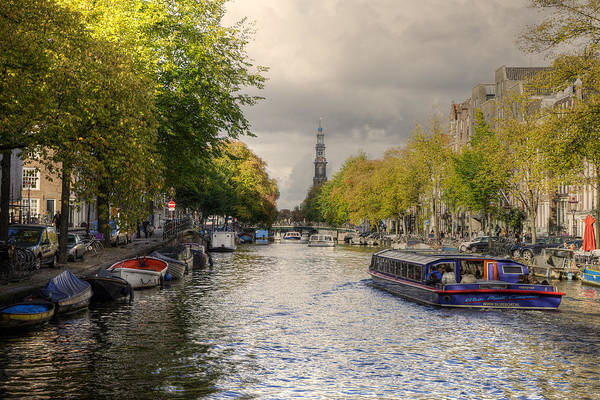 Photograph - Sailing In Amsterdam by Uri Baruch