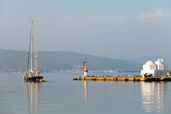 Photograph - Sailing In Greece by Paul Cowan