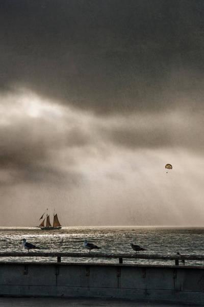 Digital Art - Sailing In Venice Beach California by Eduardo Tavares