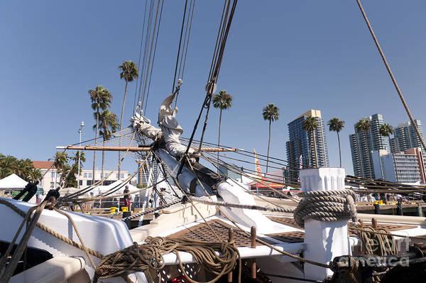 Photograph - Sailing Into San Diego by Brenda Kean