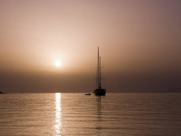 Photograph - Sailing Into The Sunset by Brenda Kean
