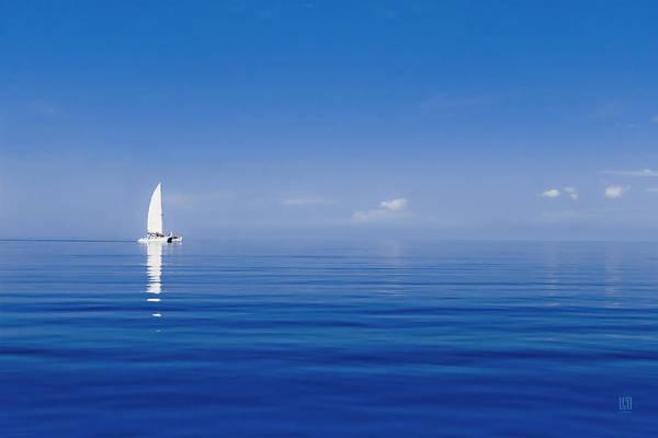 Photograph - Sailing On The Horizon by Steven Llorca