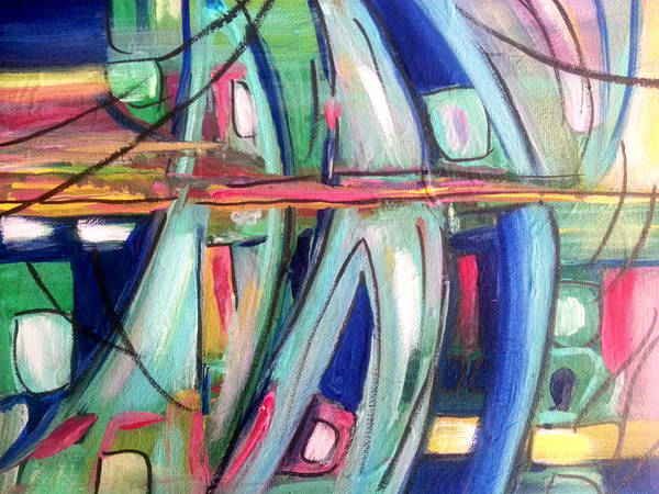 Painting - Sailing  by Nikki Dalton