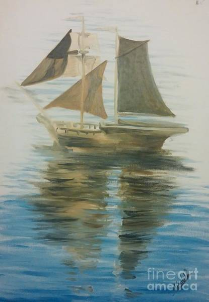 Painting - Sailing Ship by Abbie Shores