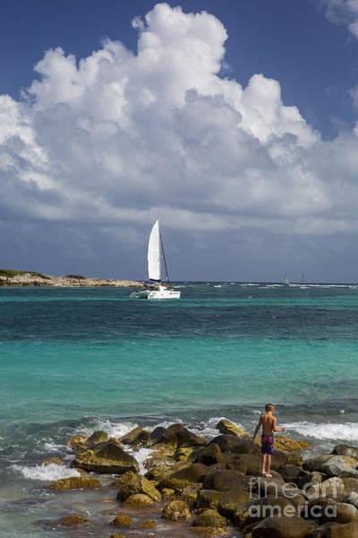 Photograph - Sailing St Maarten by Brian Jannsen