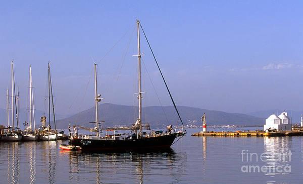 Photograph - Sailing The Aegean by Paul Cowan