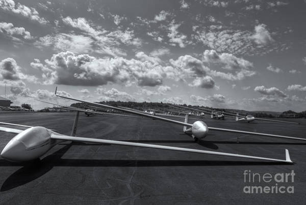Photograph - Sailplanes On The Grid Vi by Clarence Holmes