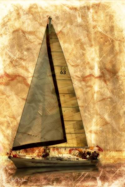 Photograph - Sails Set by Barry Jones