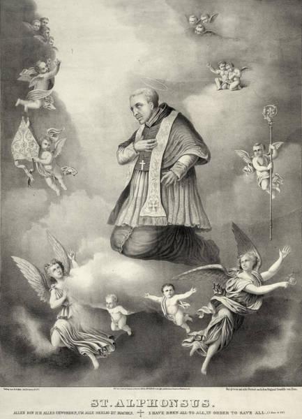 Wall Art - Painting - Saint Alphonsus Liguori (1676-1787) by Granger