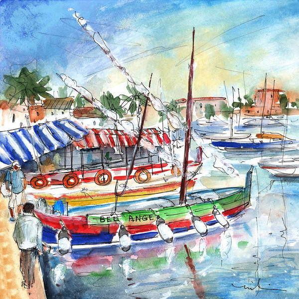 Painting - Saint Cyprien 03 by Miki De Goodaboom