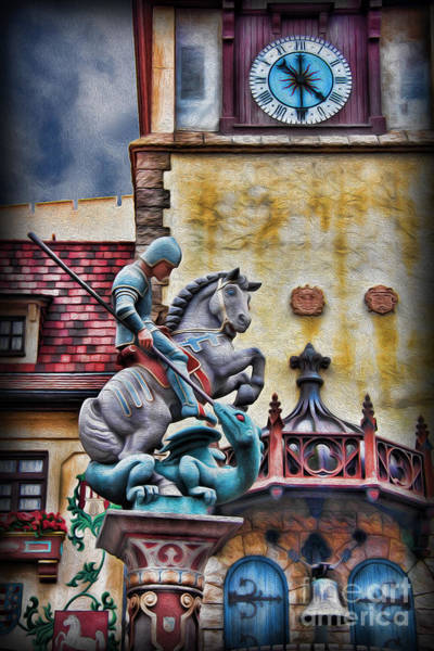 Wall Art - Photograph - Saint George Slaying The Dragon by Lee Dos Santos