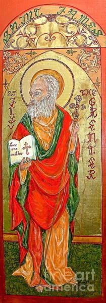 Ortodox Wall Art - Painting - Saint James by Delona Seserman