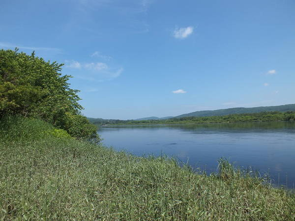 Aroostook County Photograph - Saint John River 1 by Gene Cyr