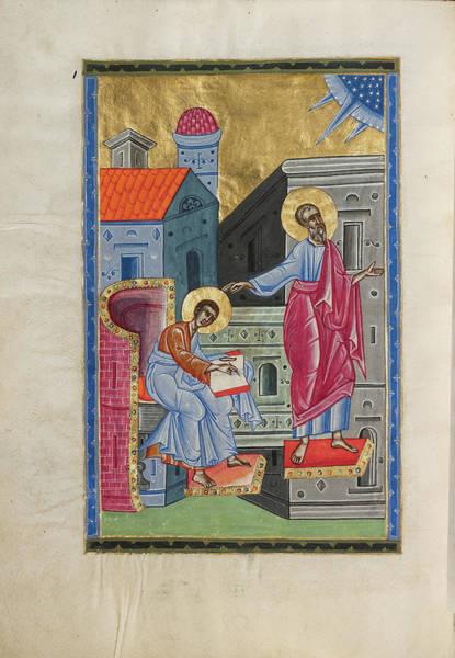 Ir Painting - Saint John The Evangelist Malnazar, Armenian, Active by Litz Collection