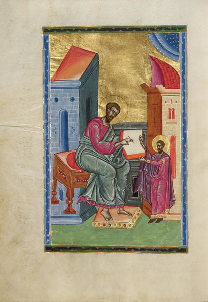 Ir Painting - Saint Luke Malnazar, Armenian, Active About 1630s by Litz Collection