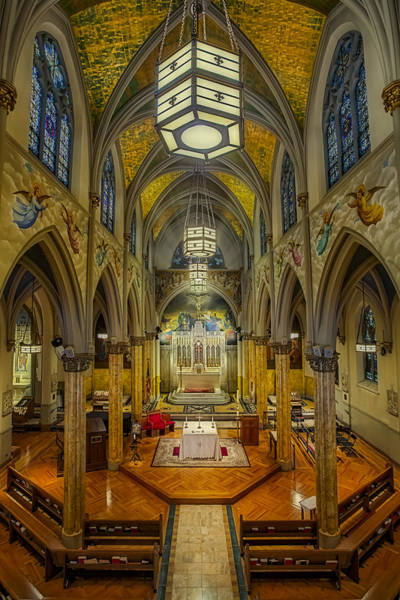 Photograph - Saint Malachy The Actors Chapel  by Susan Candelario