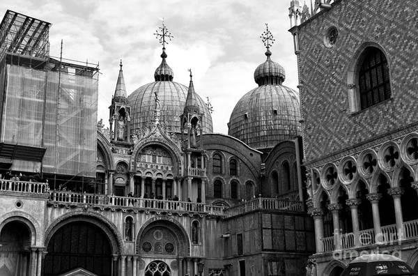 Wall Art - Photograph - Saint Mark's Basilica by John Rizzuto