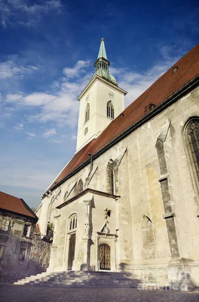 Wall Art - Pyrography - Saint Martins Cathedral  by Jelena Jovanovic