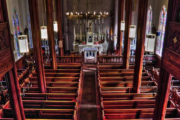 Photograph - Saint Mary's Virginia City by James Eddy