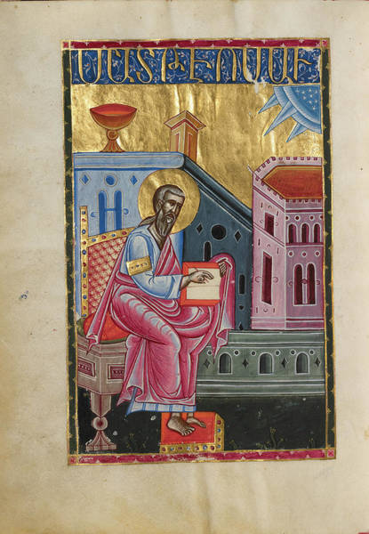 Ir Painting - Saint Matthew Malnazar, Armenian, Active About 1630s by Litz Collection