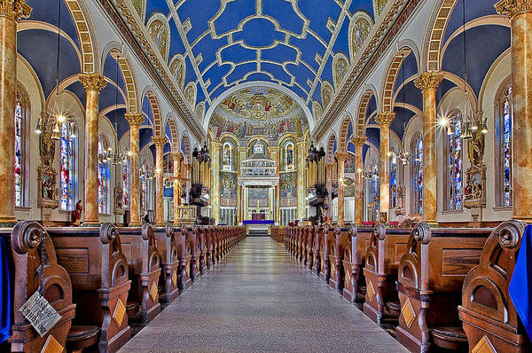 Photograph - Saint Michael Catholic Church by Susan Candelario