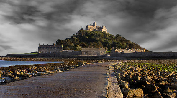 St Michaels Church Photograph - Saint Michael's Mount by Martin Newman
