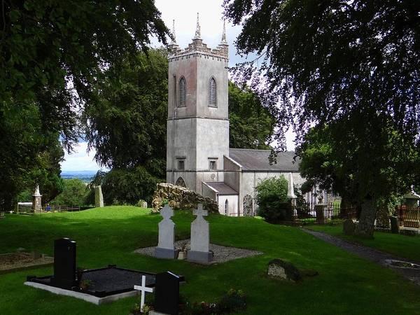 Photograph - Saint Patrick's Church And Graveyard  by Keith Stokes