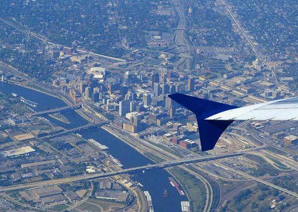 Delta Wing Photograph - Saint Paul Minnesota by Will Borden