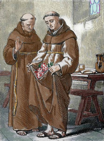 Franciscan Photograph - Saint Peter De Regalado (1390-1456 by Prisma Archivo