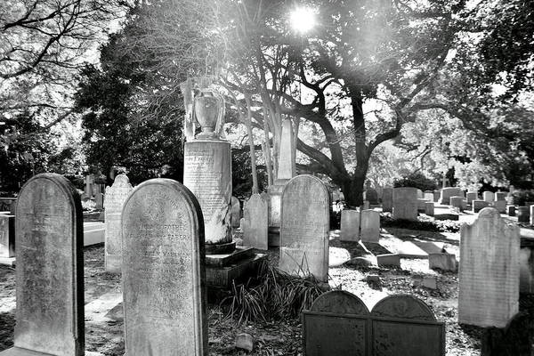 Photograph - Saint Philips Church Cemetery Charleston Sc Hdr by Lisa Wooten