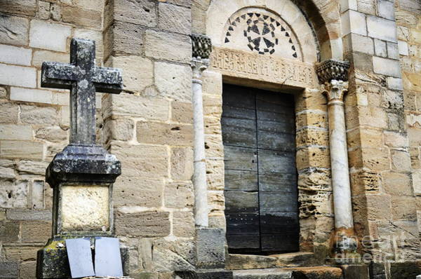 Wall Art - Photograph - Saint-pierre-de-rhedes Church by Sami Sarkis