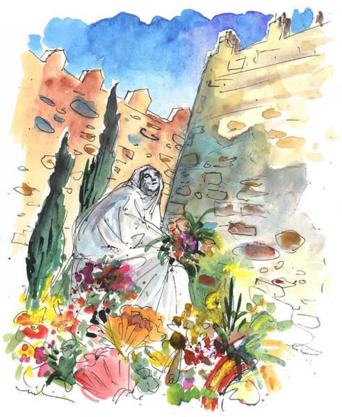 Wall Art - Painting - Saint Teresa Of Avila by Miki De Goodaboom