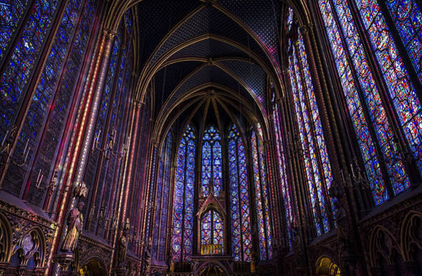 Photograph - Sainte Chapelle by Pablo Lopez