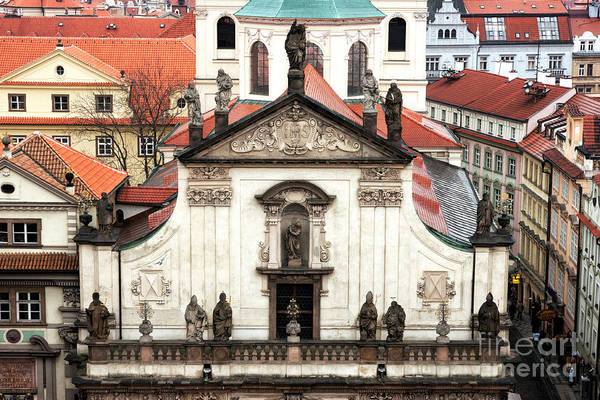 Wall Art - Photograph - Saints In Prague by John Rizzuto