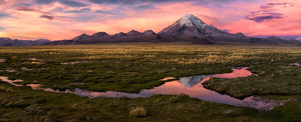 Panorama Wall Art - Photograph - Sajama by Margarita Chernilova
