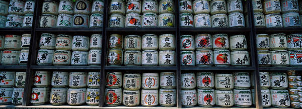 Kamakura Wall Art - Photograph - Sake, Tsurugaoka Hachiman Shrine by Panoramic Images