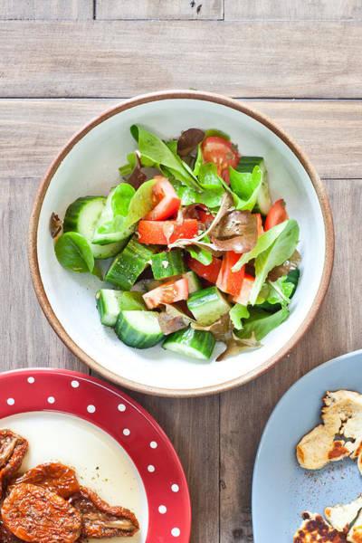 Leafy Greens Photograph - Salad by Tom Gowanlock