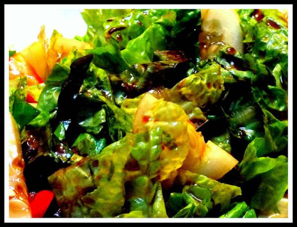 Salad Dressing Photograph - Salad Yummy Salad by Rebecca Malo