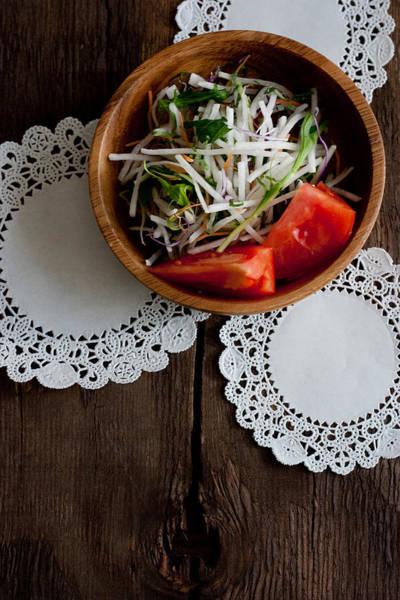 Doily Wall Art - Photograph - Salade by Cyoi