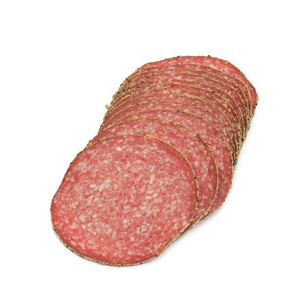 German Food Photograph - Salami by Geoff Kidd/science Photo Library