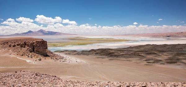 Salar De Atacama Photograph - Salar De Tara by Peter J. Raymond