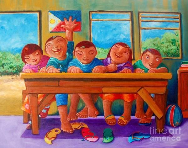 Wall Art - Painting - Salat Nguni't Sapat by Paul Hilario