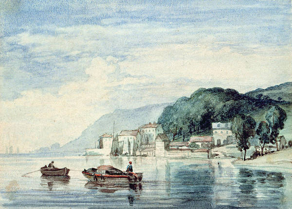 Riverscape Wall Art - Photograph - Salcombe, Devonshire by William Collins