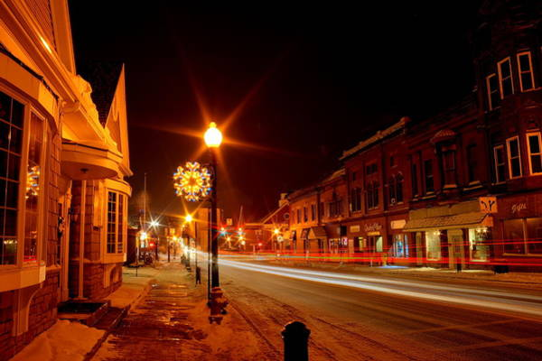 Photograph - Salem Ohio Christmas by David Dufresne